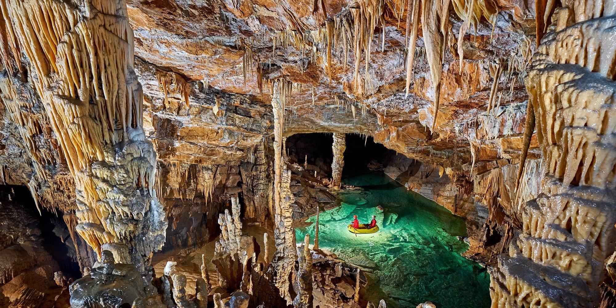 Križna Cave Slovenia