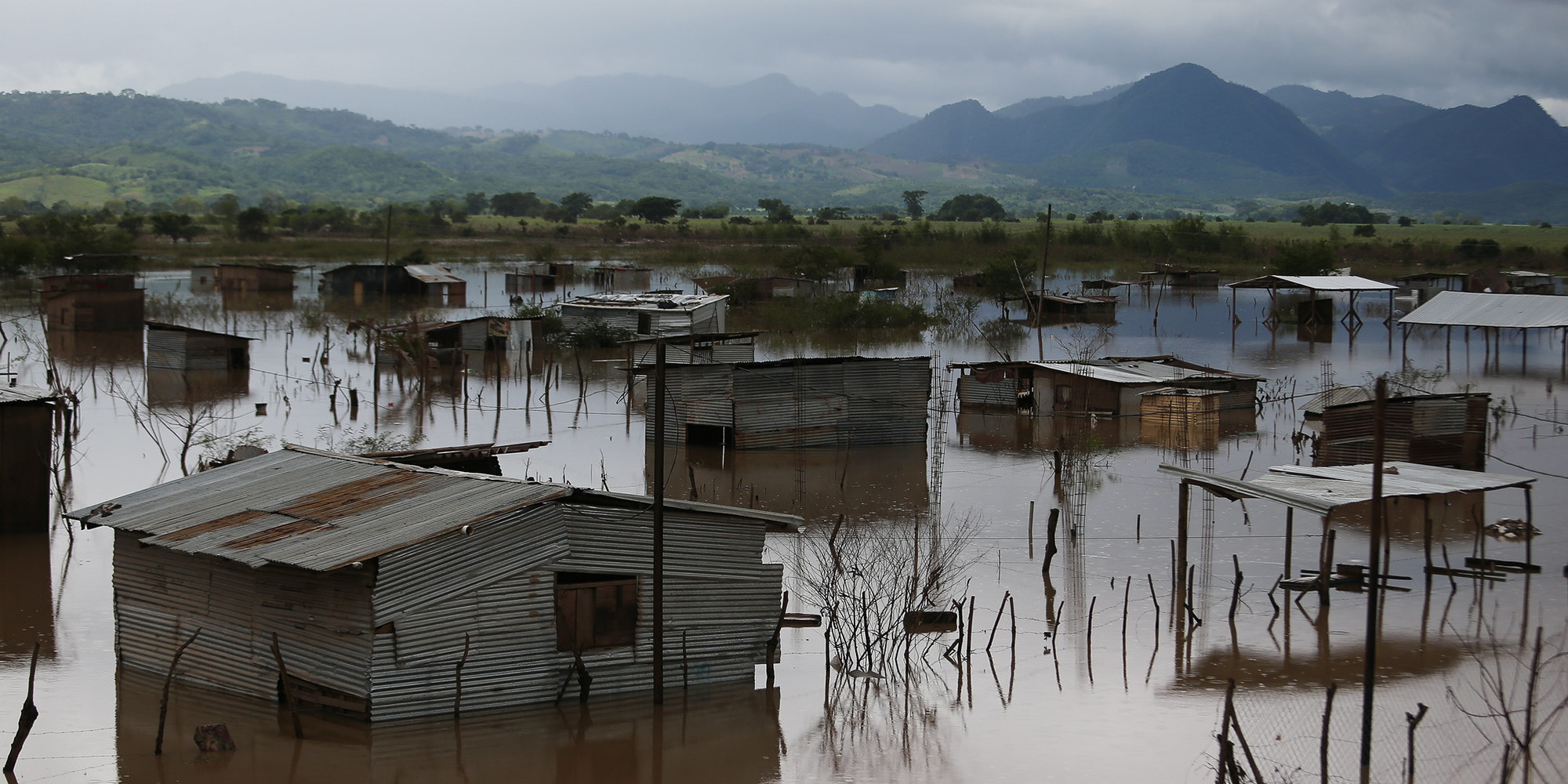 Flooding in central America
