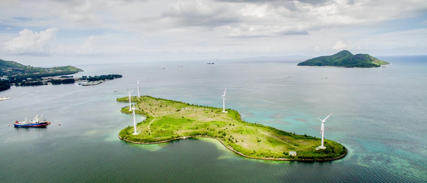 Wind farm Seychelles
