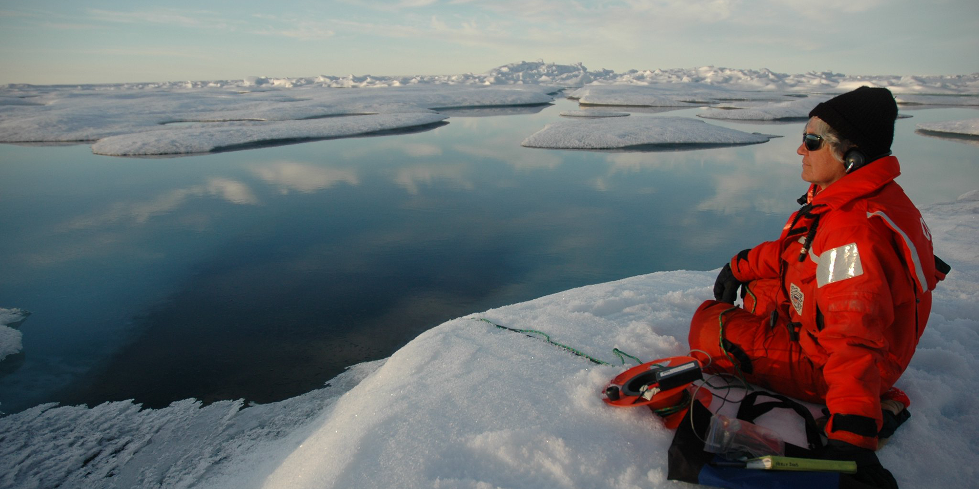 NOAA Listening to a hydrophone