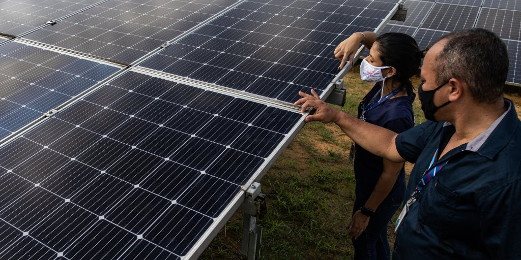solar panels Brazil