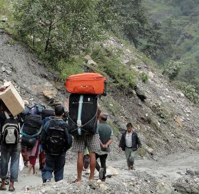 Landslip Nepal