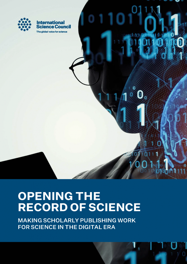 Science publishing report cover
