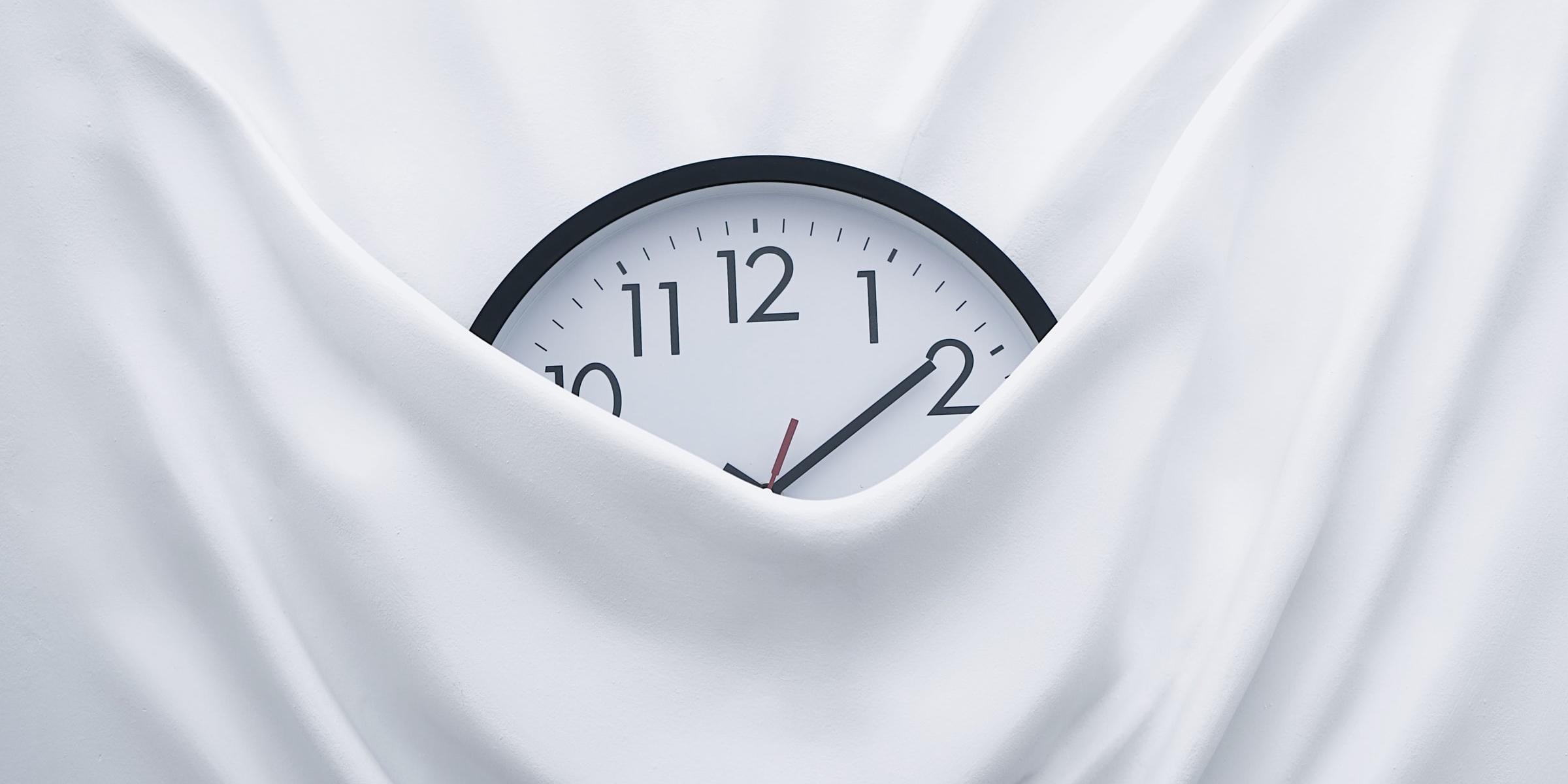 Clock in pocket